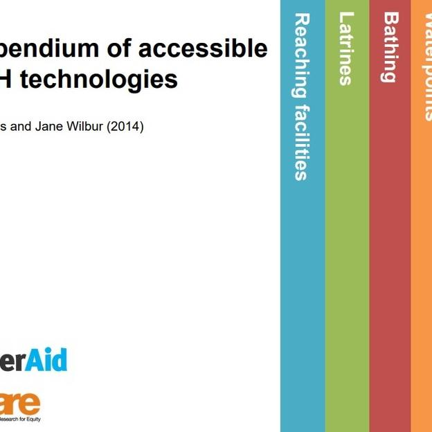 Compendium of accessible WASH technologies