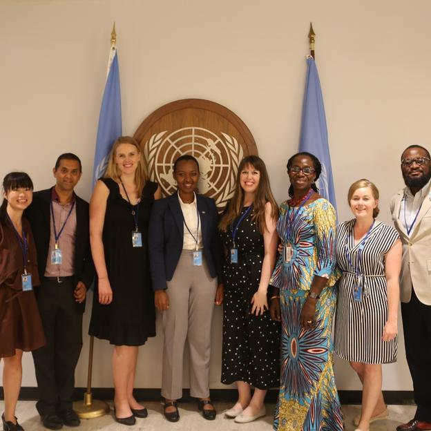 WaterAid's week 2 delegation at the 2019 UN High-Level Political Forum