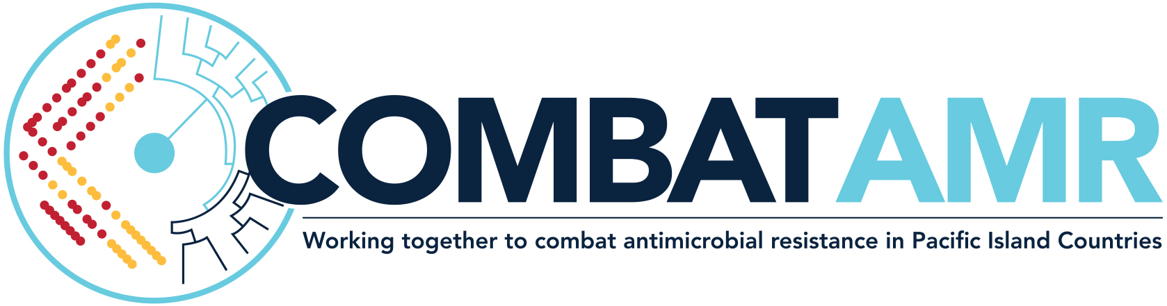 The COMBAT AMR logo